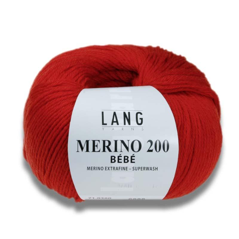 LANG Merino 200 bebe